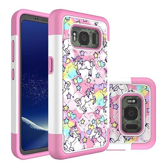 samsung s8 phone case rainbow
