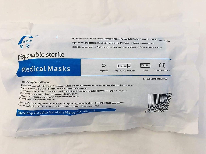 50 máscaras desechables de filtro de 3 capas, protección personal a prueba de polvo, antisalpicaduras, antigoteo para bucle de oreja