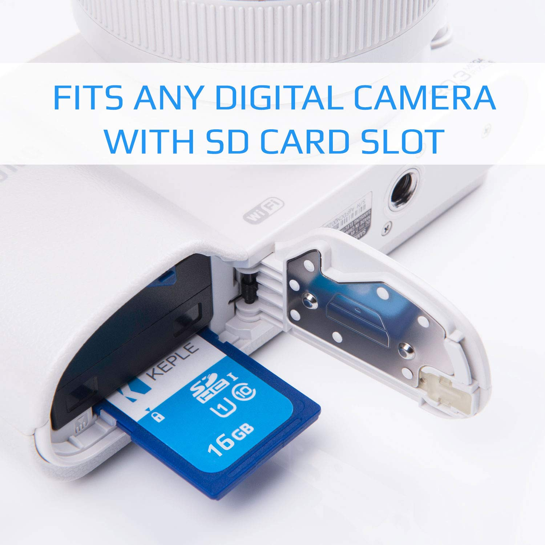 SLT-A58 SLT-A37 SLT-A99 Keple 64GB SD Memory Card Quick Speed SDcard for Sony SLT-A57 64GB Storage Class 10 UHS-1 U1 SDXC Card for HD Videos /& Photos SLT-A77 II SLR Digital Cameras