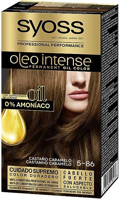 Syoss Oleo Intense - Tono 5-86 Castaño Caramelo – Coloración ...
