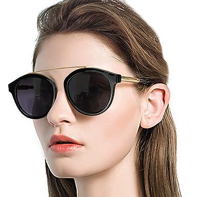 DukeIo Gafas de Sol Mujer Polarizadas Design Classique ...