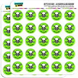 amazon com mr yuk stickers 3 sheets 30 total poison prevention