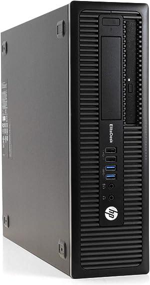 HP EliteDesk 800 G1 Desktop, Intel Core i7 4770 3.4Ghz, 32GB DDR3 RAM, 1TB SSD Hard Drive, USB 3.0, DVDRW, Windows 10 Pro (Renewed)