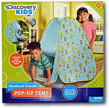 Discovery Kids Woodland Friends Pop Up Tent: Amazon.co.uk