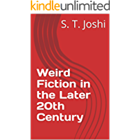 Weird Fiction in the Later 20th Century book cover