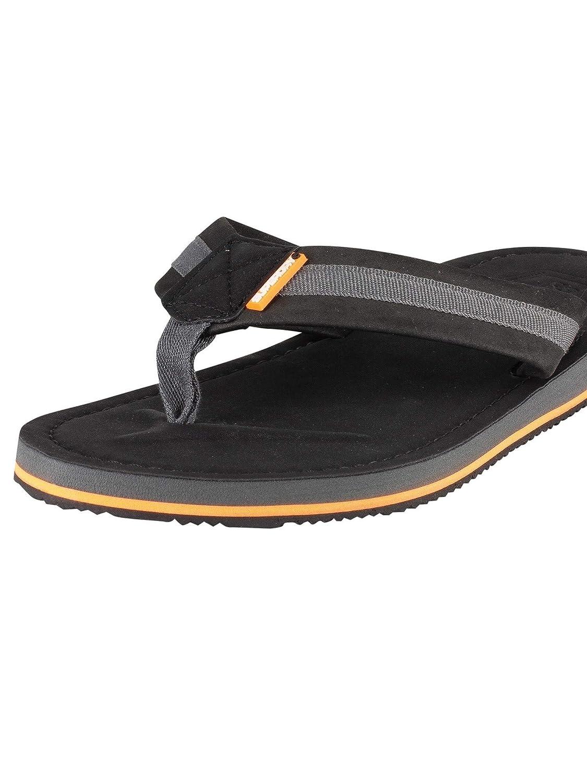 Black Superdry Mens Cove 2.0 Flip Flops
