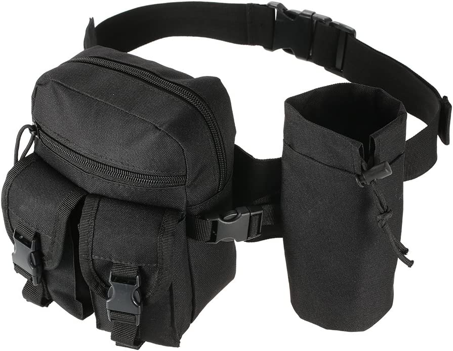 Details about  /Tactical Molle Waist Pack Double Phone Pouch Wallet Belt Bag Camping Hunting