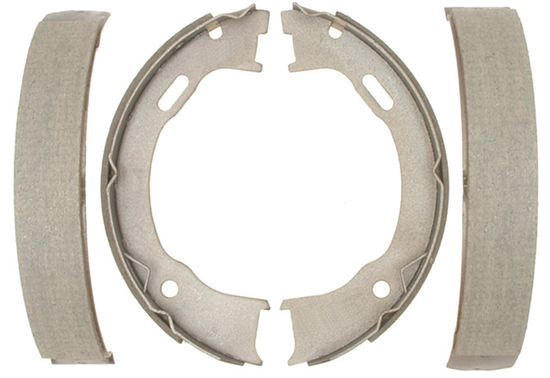 ACDelco 14745B Advantage Bonded Rear Parking Brake Shoe