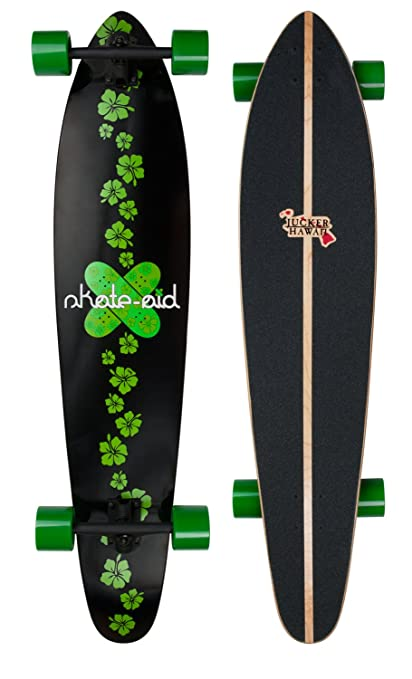 Amazon.com   JUCKER HAWAII Longboard Donator x Skate-aid   Sports ... 67b4f5ea7