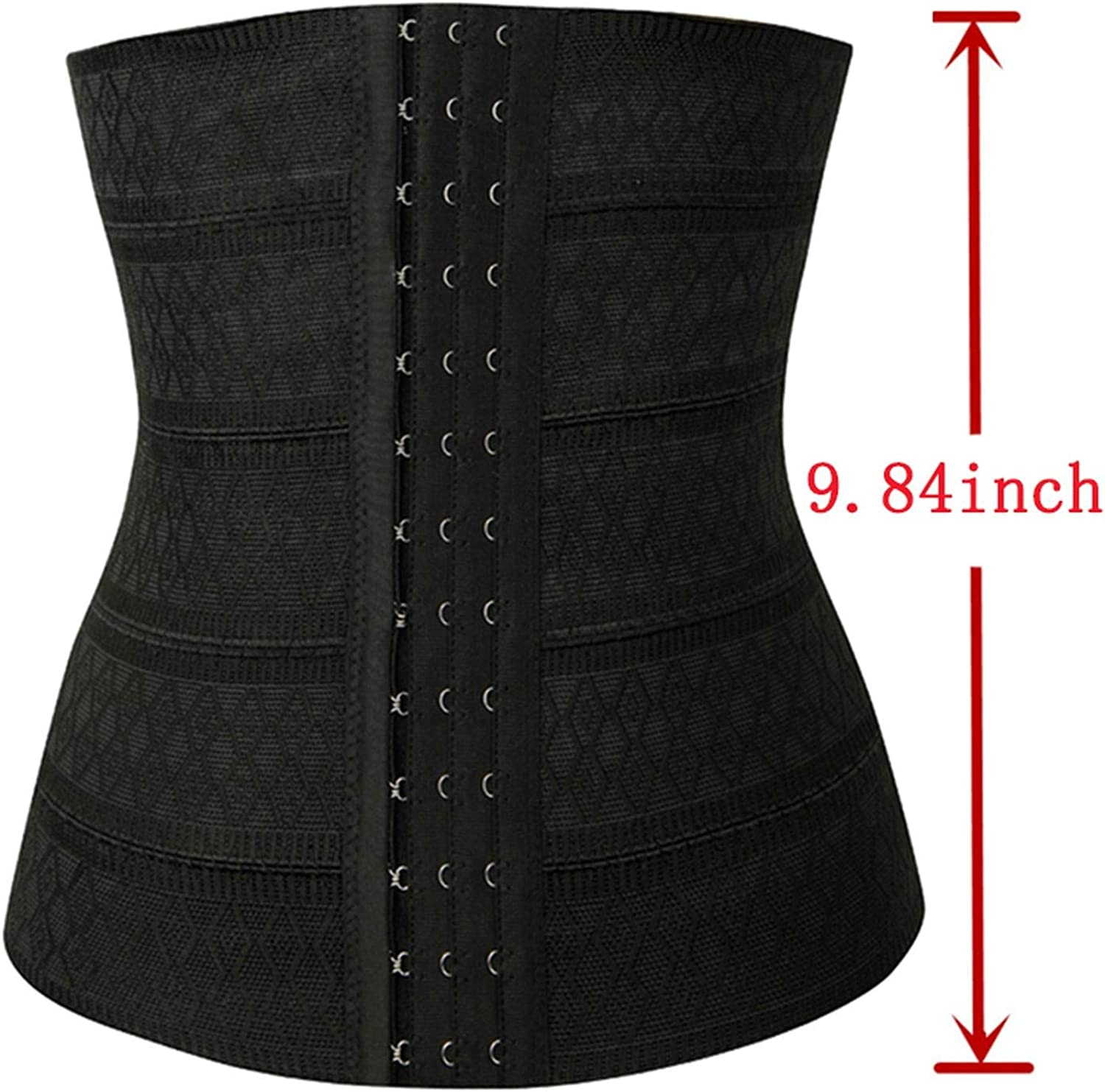 Luck Man Corset Waist Trainer Shapers Underbust Shapewear Slimming Body Shaper Belt Women