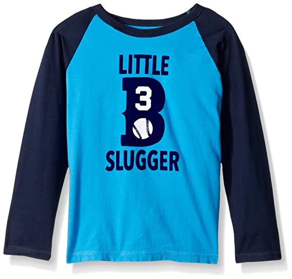8733b2831 Amazon.com: The Children's Place Baby Boys' Long Sleeve Active T-Shirt,  Bright Bay Blue 83067 4T: Clothing