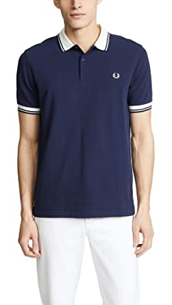 Fred Perry Herren Poloshirt Contrast Rib Pique Shirt: Amazon