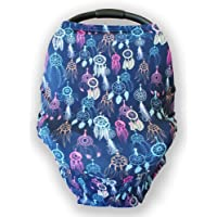 Multi-Use Nursing Cover and Infinity Scarf   Stretchy, Cotton Breastfeeding Covers & Scarves   Car Seat Cover & Canopy…