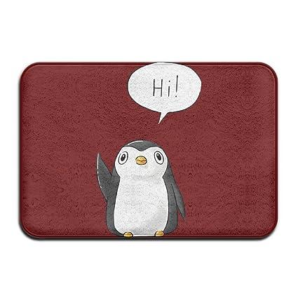 Delicieux Bikini Bag Cool Doormats Hi Penguin Funny Outdoor Mats Indoor Door Mats  Non Slip Doormat