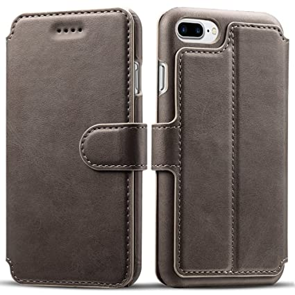 Amazon.com: Funda billetera Pasonomi para iPhone 7 Plus, de ...