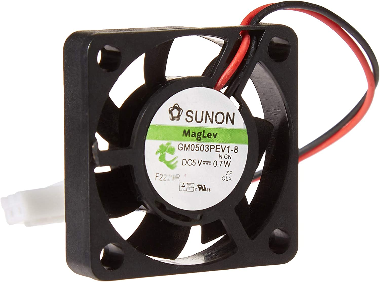 stratux caso con ventilador, color blanco Abs: Amazon.es: Electrónica