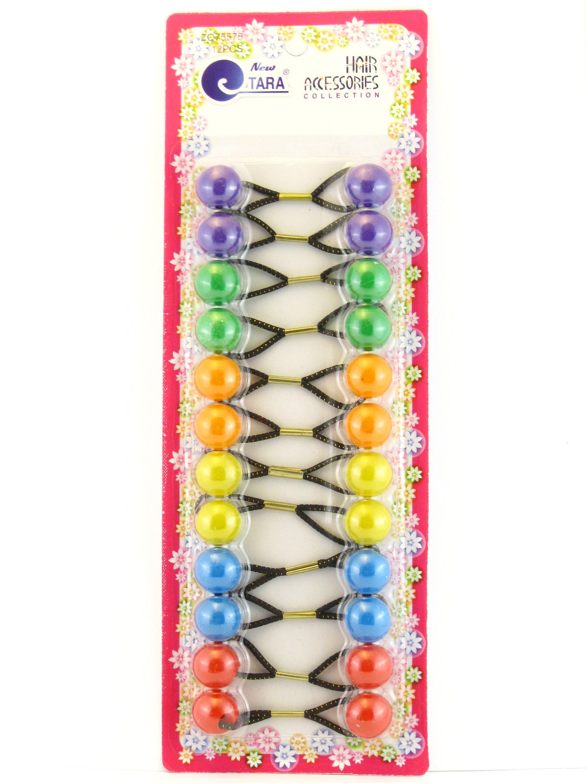 Amazon.com   Style It Up Small Hair Bobbles   Ponytail Holders With ... b7ee674413f