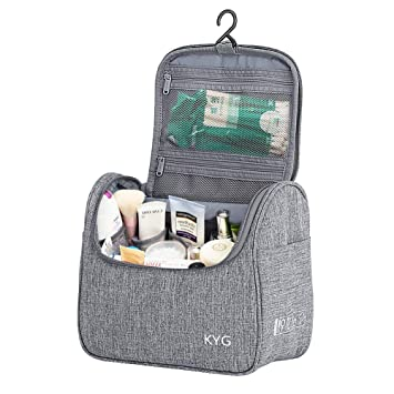 Neceser de Viaje para Colgar Bolsas de Aseo Cosméticos Organizador Accesorios de Baño Material Resistente y Impermeable Bolsas de Aseo Personal Viajes ...
