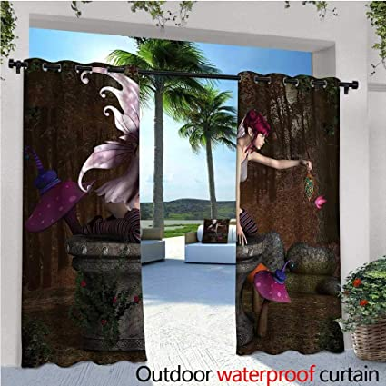 Amazon.com : Fairy Outdoor- Free Standing Outdoor Privacy ... on cabin house designs, united states house designs, rv house signs, elf house designs, cottage house designs, rv interior design,