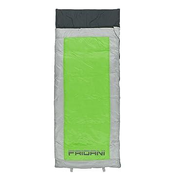 Fridani QG 170 K Camping Saco de Dormir hasta + 6 °C XL - Saco de Dormir Infantil 170 x 70 cm Outdoor - Saco con 1200 g cabaña Saco de Dormir ...