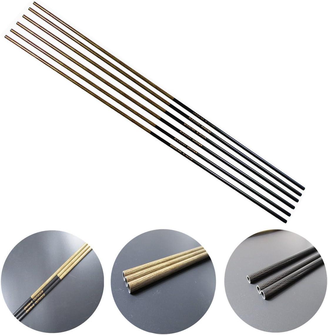 "DIY 32"" Carbon Arrow Shaft OD4.2mm Spine 600  Archery Tool Sports Hunting"