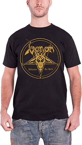 Venom /'Welcome To Hell/' T-Shirt NEW /& OFFICIAL!