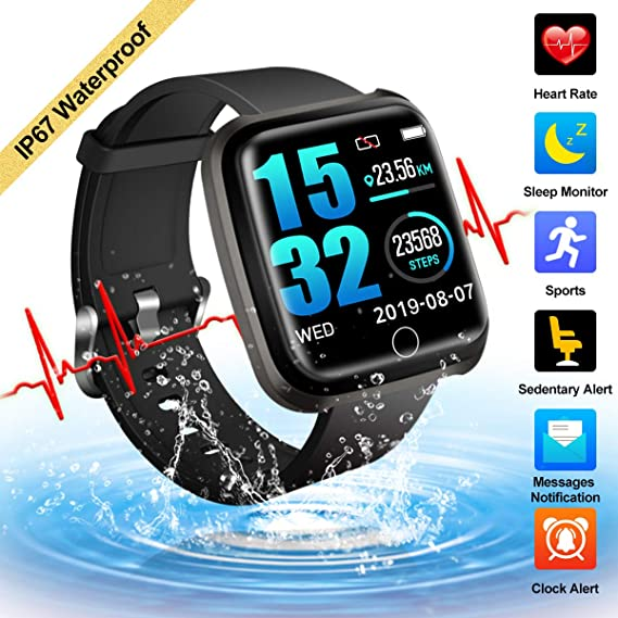 Amazon.com: Fitness Tracker,Activity Tracker Smart Watch ...