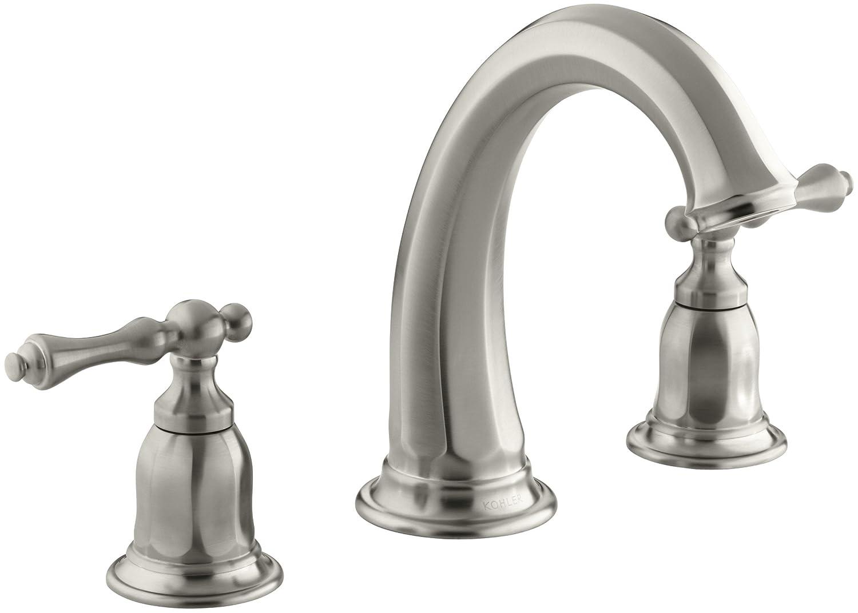 kohler roman tub faucet parts. KOHLER K T13494 4 CP Kelston Deck Mount Bath Faucet Trim  Polished Chrome Touch On Kitchen Sink Faucets Amazon com