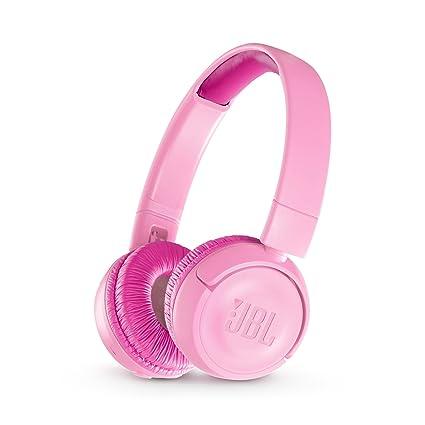 5f75fc548cfce6 Amazon.com: JBL JR 300BT Kids On-Ear Wireless Headphones with Safe Sound  Technology (Pink): Home Audio & Theater