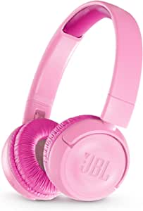 JBL JR300BT Kids Wireless On-Ear Headphones, Pink