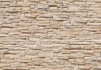 Fototapete Asian Stonewall 366x254cm Tapete Steine Steinwand Mauer 3D  Deco.deals
