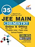 35 JEE Main Chemistry Online (2017-2012) & Offline (2017-2002) Chapter-wise + Topic-wise Solved Papers