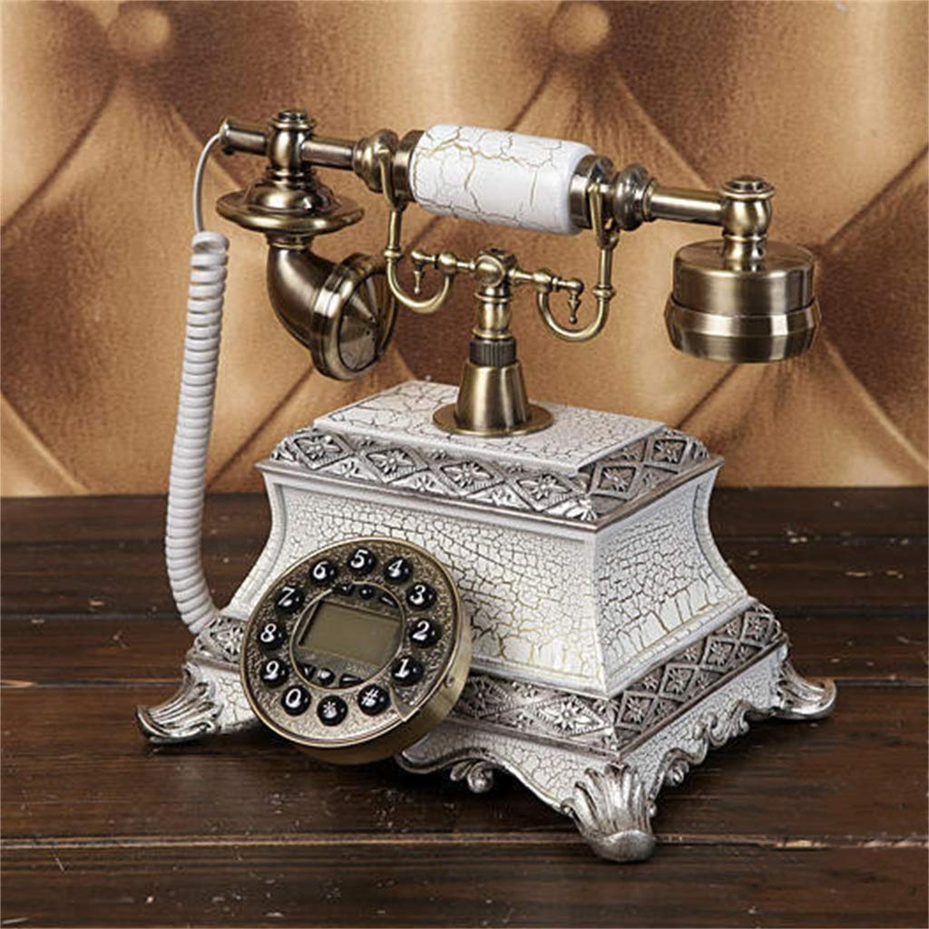 JGBHPNYX Retro Landline Phone Classic Vintage Phone Decoration Home Office Decoration Antique Landline Phone