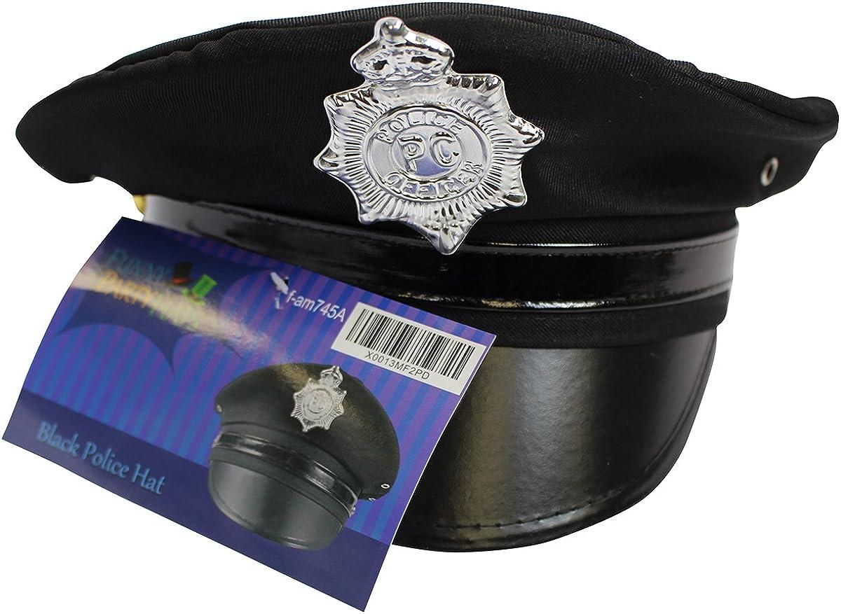 12 KIDS BLACK VELVET SHERIFF  HAT BADGE cowboy headwear