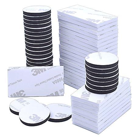 cuscinetti in schiuma a doppia faccia,cuscinetti biadesivi in schiuma,Nastro adesivo quadrato e rotondo,cuscinetti in schiuma adesivi