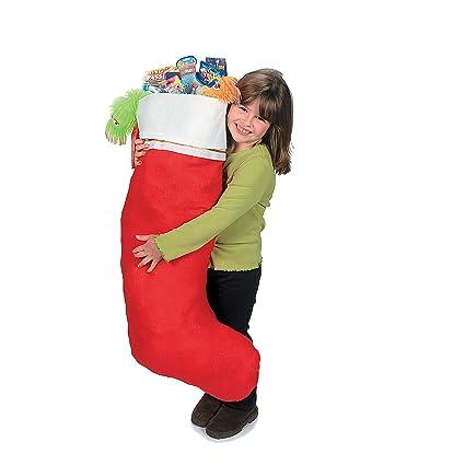 jumbo giant christmas stocking 16 x 45 - Giant Christmas Stocking