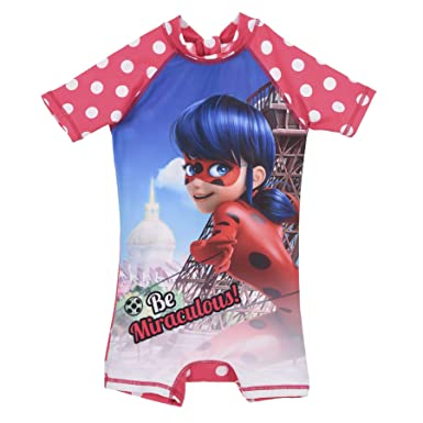 Miraculous Ladybug - Traje de una Pieza - para niña Rosa ...
