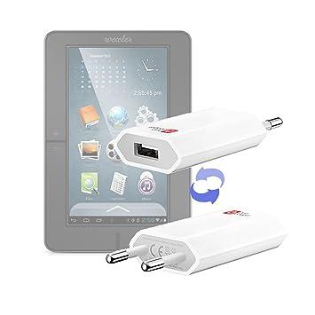 DURAGADGET-Cargador de red USB práctica y compacta para ebook ...