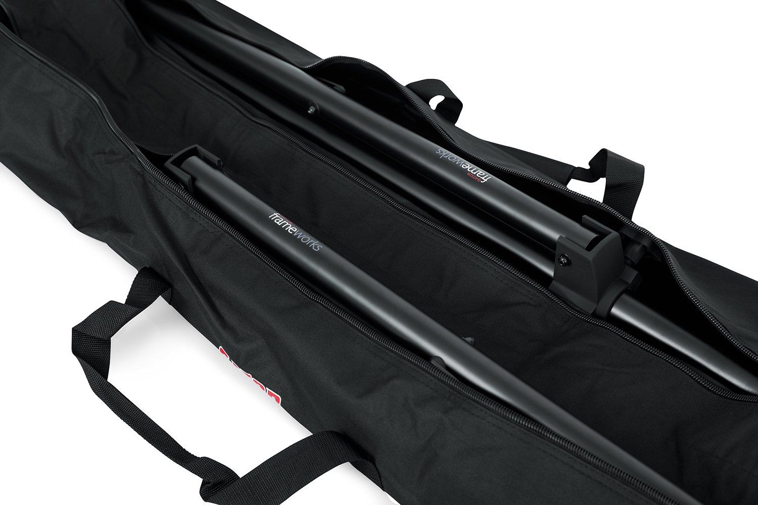 Gator Cases Dual Compartment Stand Carry Bag with 50'' Interior; Holds Speaker, Microphone or Lighting Stands (GPA-SPKSTDBG-50DLX) by Gator (Image #4)