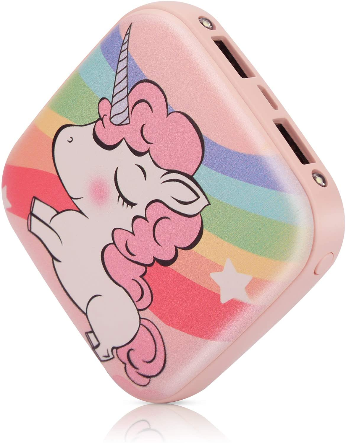 Cute Portable Charger 10000mAh,Sethruki Unicorn Mini Fast Charging Power Bank Gift Girl Women Kid External Battery Pack with Dual USB Output for All Smartphone Cellphone Tablet