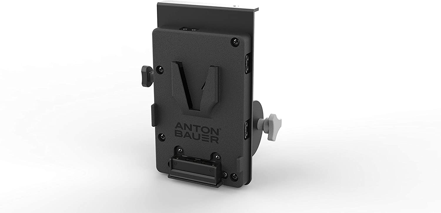 Anton Bauer 8375-0215 QRC LG V-Mount V-Mount Bracket with Clamp to Mount to Lighting Stands