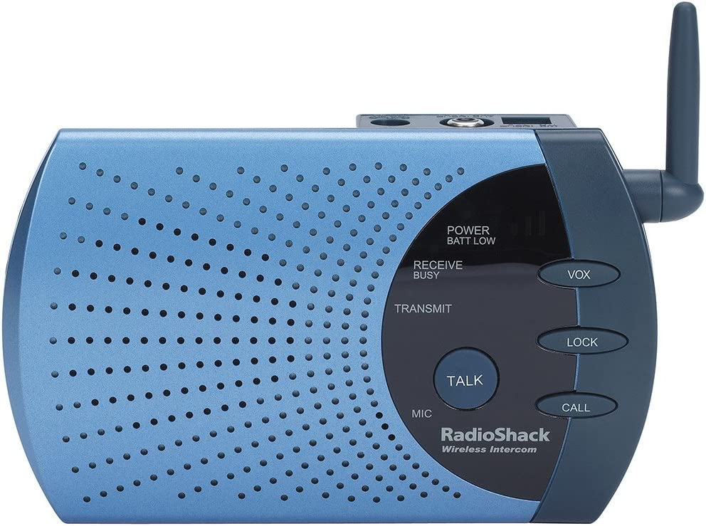 RadioShack 4-Channel 900MHz Wireless Intercom with VOX Mode
