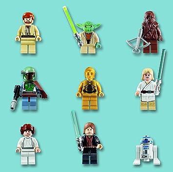 lego ls007 carte danniversaire motif personnages lego star wars