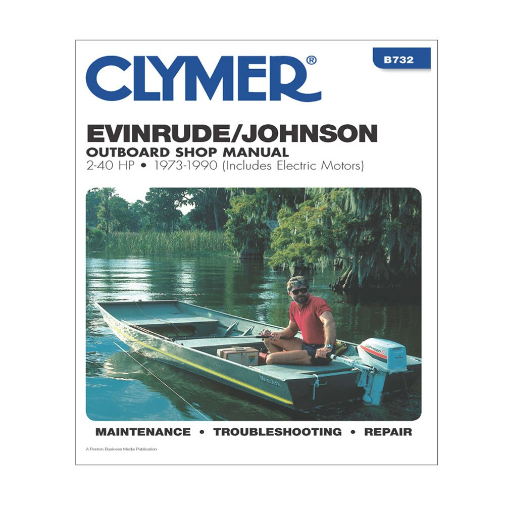 Amazon.com: Clymer Evinrude/Johnson Outboard Shop Manual, 2-40 HP, 1973-1990  (Includes Electric Motors) (Clymer Marine Repair Series) 6th (sixth)  Revised ...