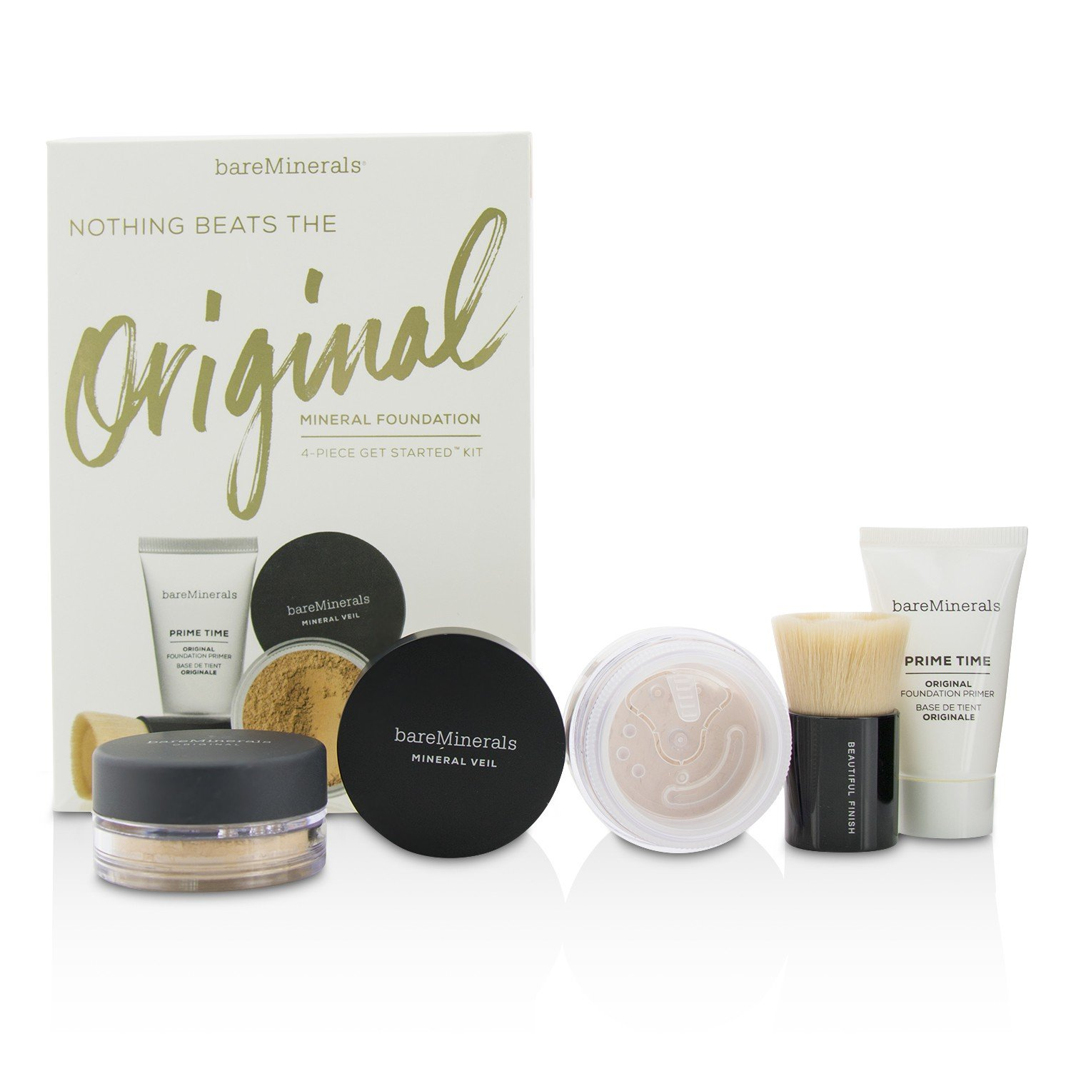 Bare Minerals Nothing Beats The Original Get Started Set Medium Beige 4pc Set,, 0.16 Ounce