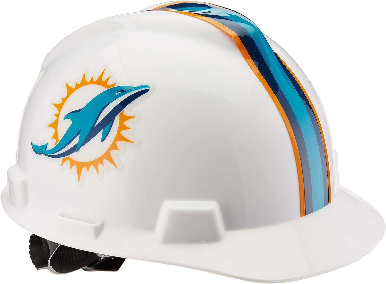 MSA 818399 NFL V-Gard Protective Cap, Miami Dolphins