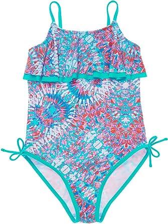 c417f3948f CharmLeaks Girls Cute One Piece Swimming Costumes Printed Swimsuit Swimwear