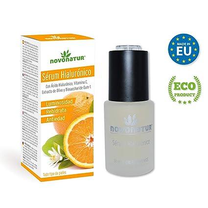 Serum facial de Colágeno Hidrolizado con Ácido Hialurónico, vitamina C, Biosaccharide GUM-1