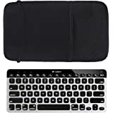 Yamay Bluetooth キーボードポーチスリーブ、Logicool K380、Logicool K810、Logicool K811、Apple MC 184LL/B、Anker AK-A7726111 に対応