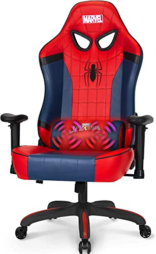 Marvel Avengers Massage Gaming Chair Desk Office Computer Racing Chairs - a good cheap computer gaming chair